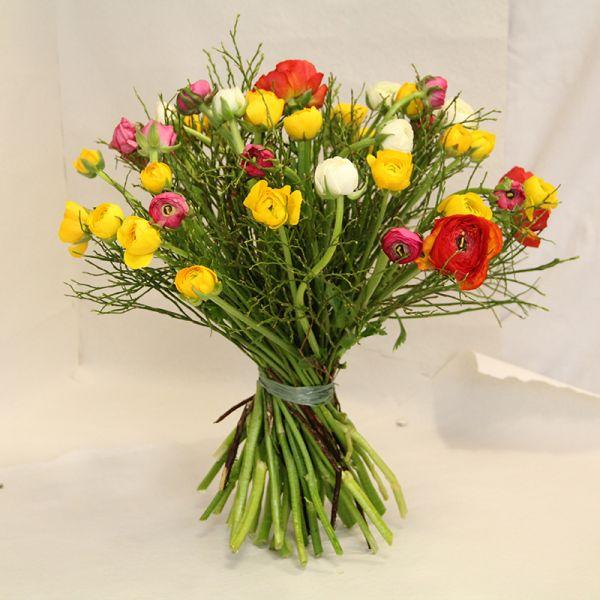 Blumenstrauß Ranunkeln im Trio