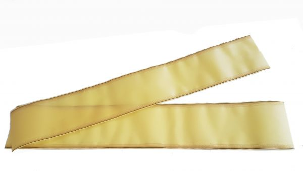 Grabschleife Gelb 15cm breit