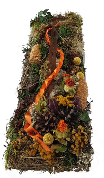 Werkstück - Modern Herbst/ Winter Friedhof