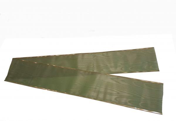 Grabschleife Zederngrün 7,5cm breit