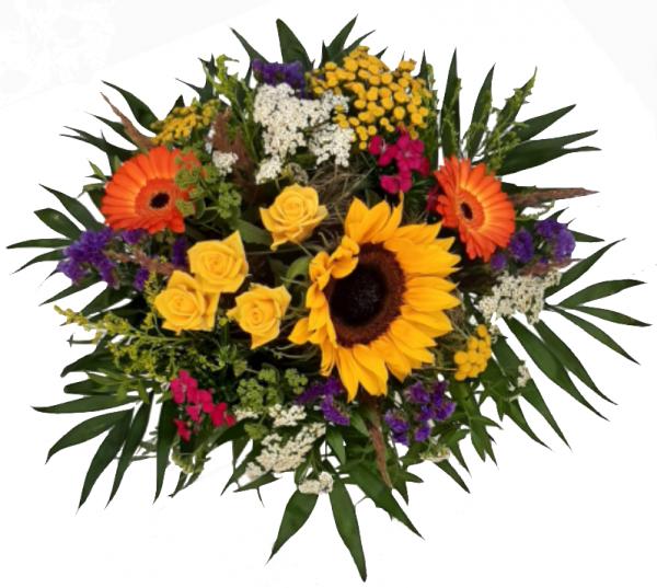 Blumenstrauß ☼ bunter Blumengruß ☼