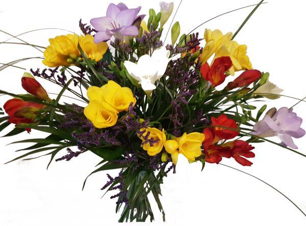 Blumenstrauß Freesien