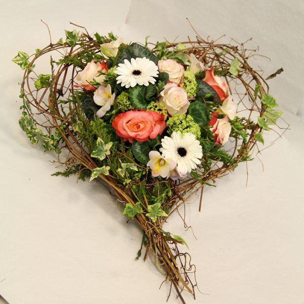 Blumengesteck Blütenherz