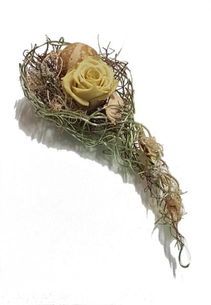 Dauerhafte Tischdeko - mit Haltbaren Rosen