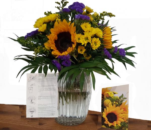"""Blumenstrauß """"Ein Sonnengruß"""" Angebot des Sommers"""