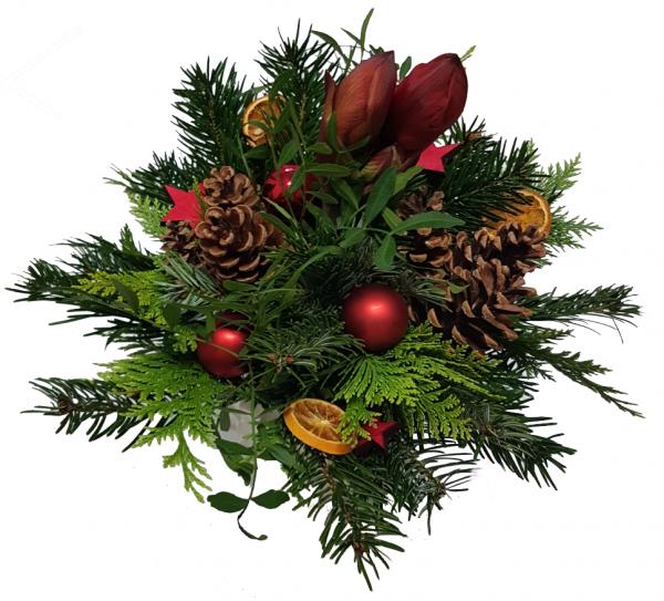 * Weihnachtsstrauß mit Amarylles*