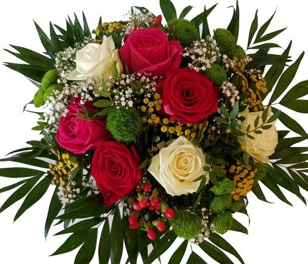 """Blumenstrauß mit Expressendung """"Liebelei der Blumen"""""""