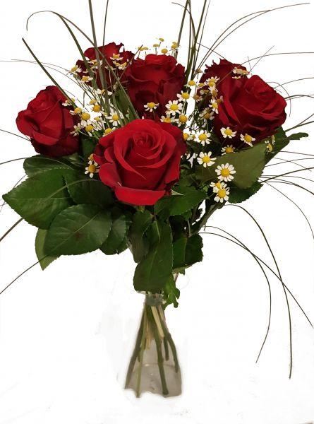 frische Rosen zum Valentinstag - Rote Rosen der Liebe- TOP Qualität -100% Frischegarantie