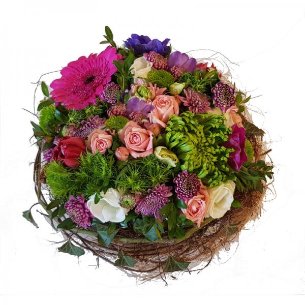 Frischblumengesteck ✿ Blumen ✿