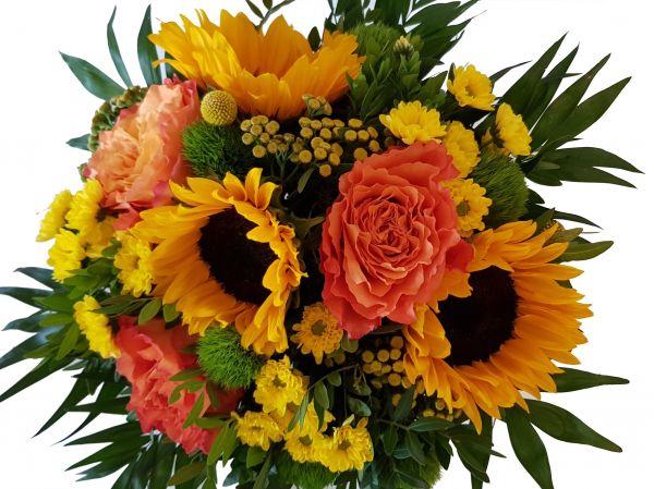 Blumengruß ,, Dankeschön,,