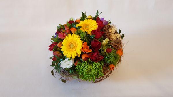 Frische Blumen Versenden ,, Sonnenstrahl,, zum Geburtstag unter www.flora-trans.de