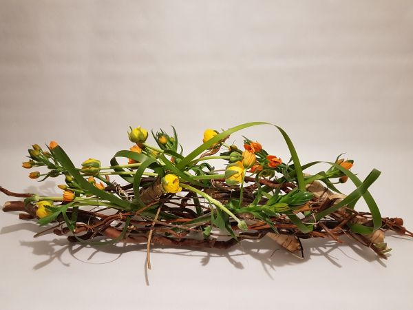 Blumengesteck bei Flora Trans