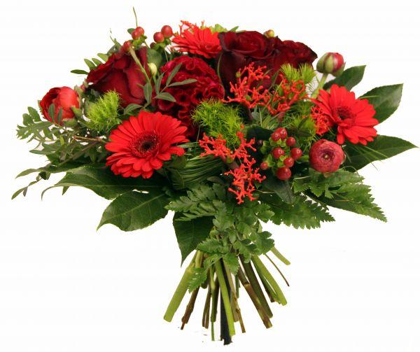 Der perfekte Blumenstrauß zum Hochzeitstag - Rosenstrauß
