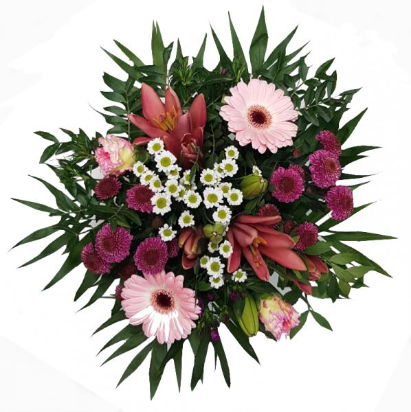 Blumenstrauß mit echten Blumen Angebot