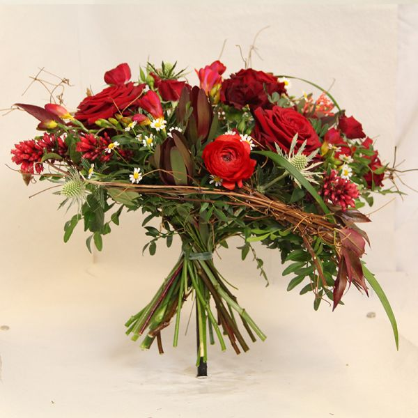 Blumenstrauß Purpurrot