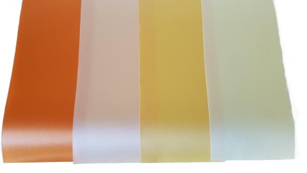 """Trauerschleife in den Farben Creme/Gelb/Orange mit Text pro Stück 15€ - """"Worte des Abschieds"""""""