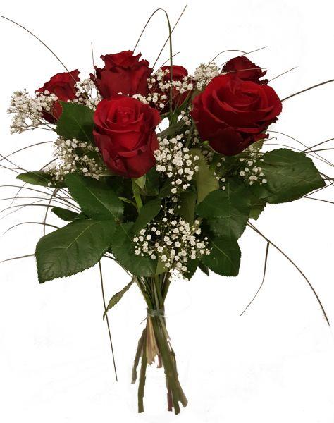 Rote Rosen / Blumenstrauß mit Rosen in Rot /,,Rosenrot ,,