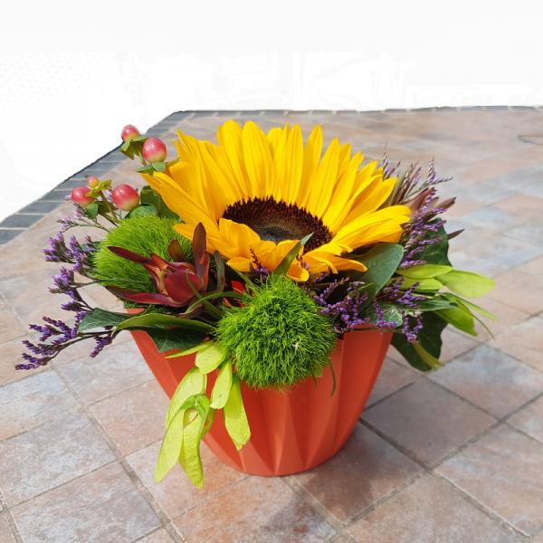 kleines Blumengesteck *für mein Sonnenschein*