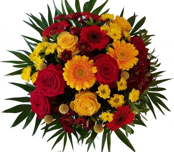 Blumenversand- Blumenstrauß ..Licht der Liebe.. mit Sofort Versand
