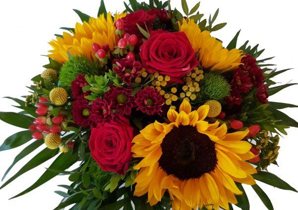 Sonnenblumenstrauß mit Expressversand