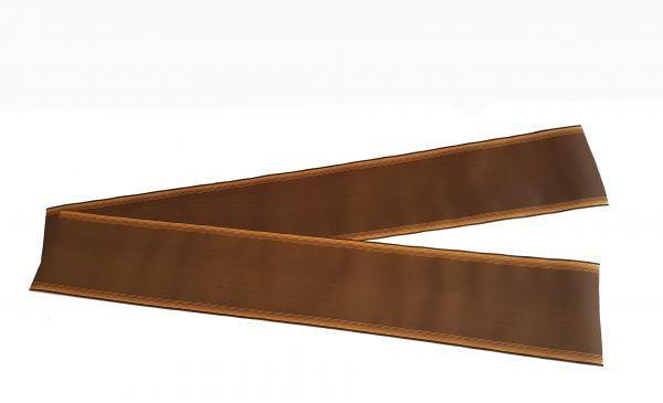 Trauerband Hellbraun 7,5cm breit