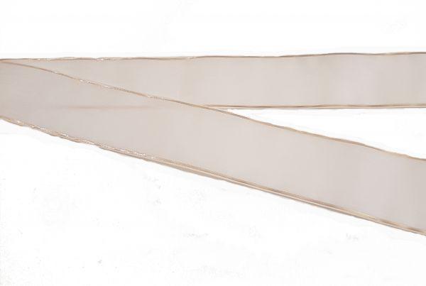 Trauerschleife Weiß