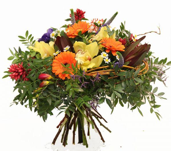 Blumenstrauß vom Floristenmeisterbetrieb - Blumenstrauß Orchideen
