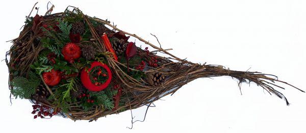 Trauergesteck Friedhof  Winter / Totensonntag Allerheiligen