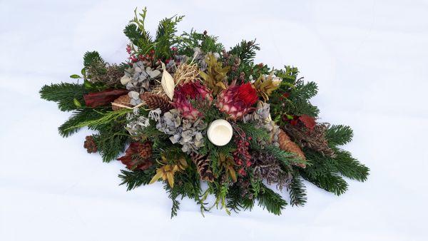 Grabspange Trauergesteck Gesteck Totensonntag Friedhof
